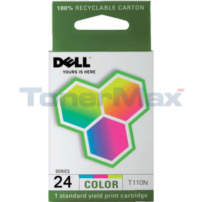 DELL P715W SINGLE USE SERIES 24 PRINT CART CLR HY